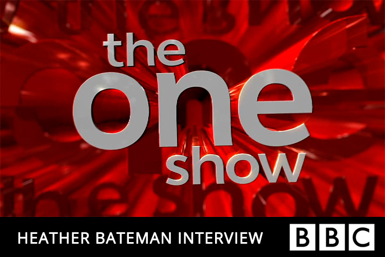 Heather Bateman Interview on The One Show